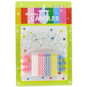 12+12 Candle & Happy Birthday Candle Set Case Pack 144