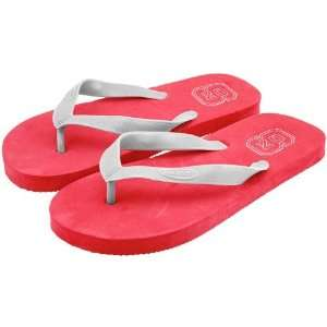 North Carolina State Wolfpack Red Shower Flip Flops