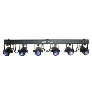 Chauvet 6SPOT Tri Color LED System Musical Instruments