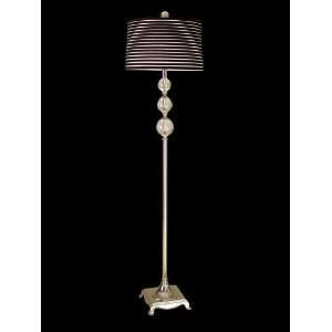 Dale Tiffany GF701167 Neville 1 Light Floor Lamp in Nickel