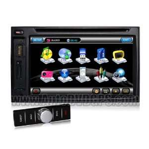 Qualir In dash 2 Din Car DVD GPS Navigation Player Car