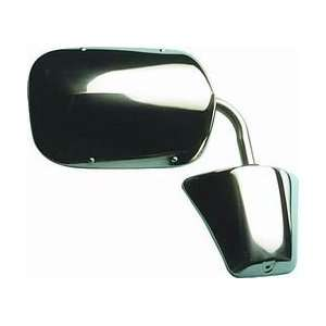 OE Style Chrome Manual Replacement Mirror (Fits Driver/Passenger Side