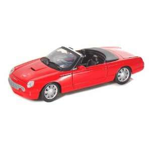 2000 Ford Thunderbird Convertible 1/24 Red Toys & Games