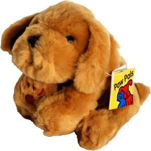 Golden Retriever Dog    Paw Pals Beanie Plush