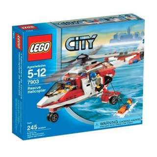 LEGO City Rescue Helicopter  Toys & Games