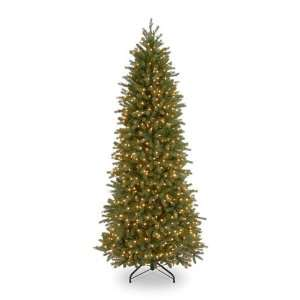 Poly Jersey Fraser Pencil Fir Pre Lit Christmas Tree