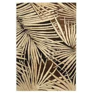 Martha Stewart MSR3268A Coconut and Brown Country 6 x 6 Area Rug