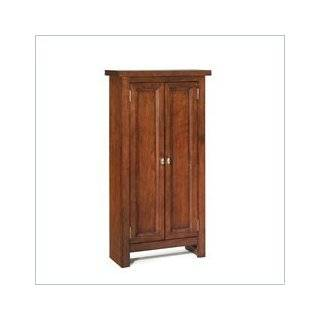 Media Cabinet in Cottage Oak Home Styles Arts & Crafts Media Cabinet