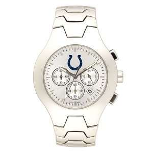 Indianapolis Colts Mens NFL Hall of Fame Chronograph Watch (Bracelet