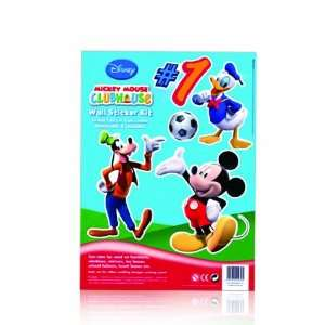 Disney Mickey Mouse Clubhouse Wall Sticker Kit   (Mickey