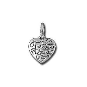 Sterling Silver Heart Forever Yours Charm