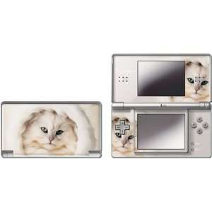 Skinit White Persian Cat Vinyl Skin for Nintendo DS Lite