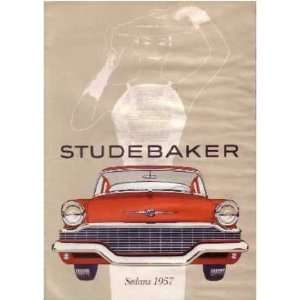 1957 STUDEBAKER Sales Brochure Literature Book Piece