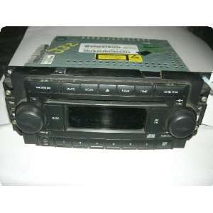 04 (recvr), AM/FM CD player, w/o navigation; single disc player