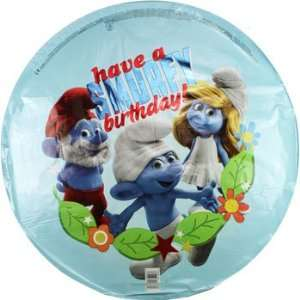 Smurfs Happy Birthday Foil Balloon 18 Toys & Games