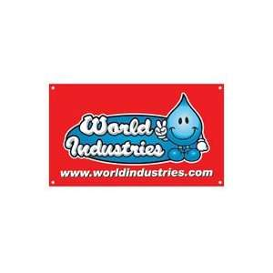 World Industries Wet Willy Oval Banner