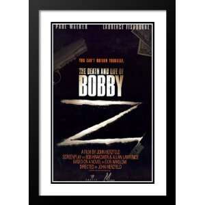 The Death and Life of Bobby Z 20x26 Framed and Double