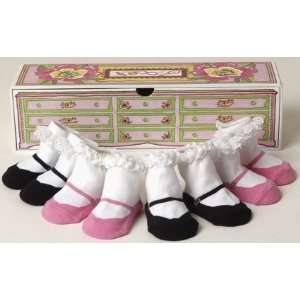 Dolly and Dimples Baby Sock Gift Box set   Tea Party