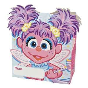 Abby Cadabby Sesame Street™ Treat Boxes   Party Favor & Goody Bags