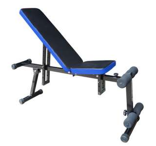 Adjustable Multi use Dumbbell bench Chair Utility exercise Fitness Sit