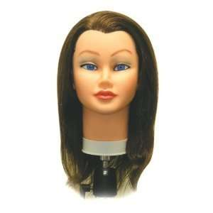 Sam II Cosmetology Human Hair Manikin, Brown Beauty