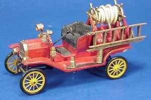 48 SCALE WISEMAN 1914 MODEL T FORD FIRE TRUCK KIT NM 906 NATIONAL