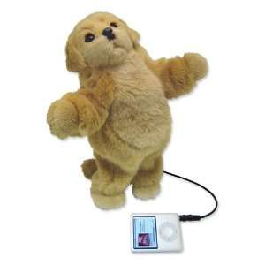 Mi Pet Plush Golden Retriever Puppy Dancing  Speaker