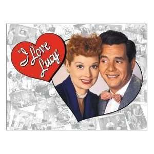 Love Lucy Lucille Ball tin sign #632