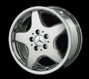 18 Mercedes AMG Style 5 Spoke Chrome Rim (Wheels) 129 SL Class